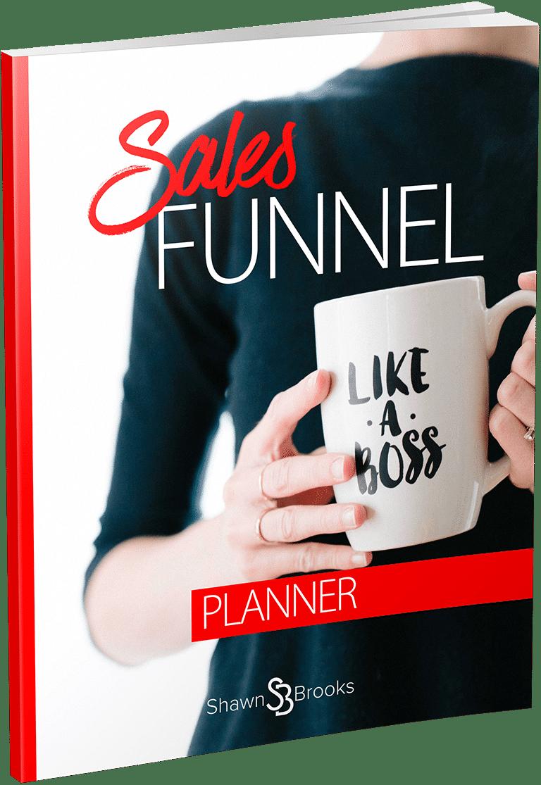 Shawn Brooks Sales Funnel Planner