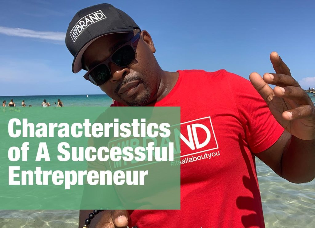 successful entrepreneur by Shawn Brooks