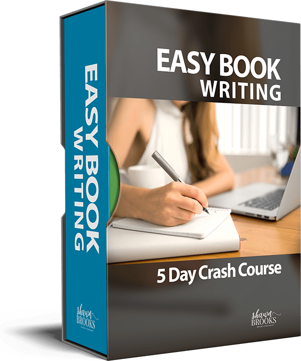 Easy Book writing course by Shawn brooks