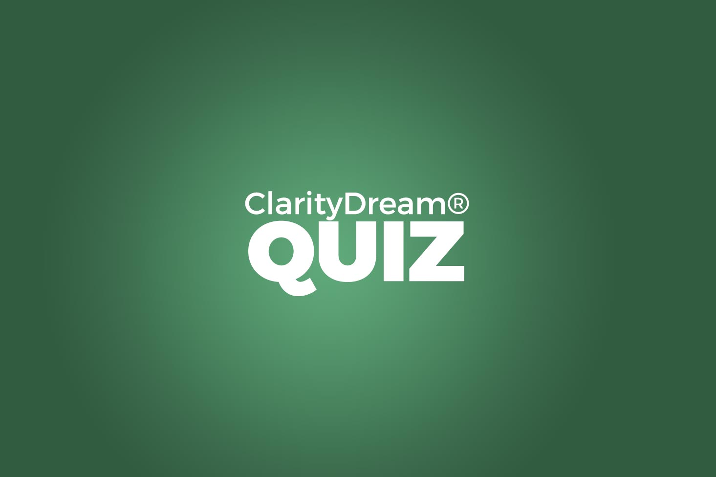 Shawn Brooks Clarity Dream quiz